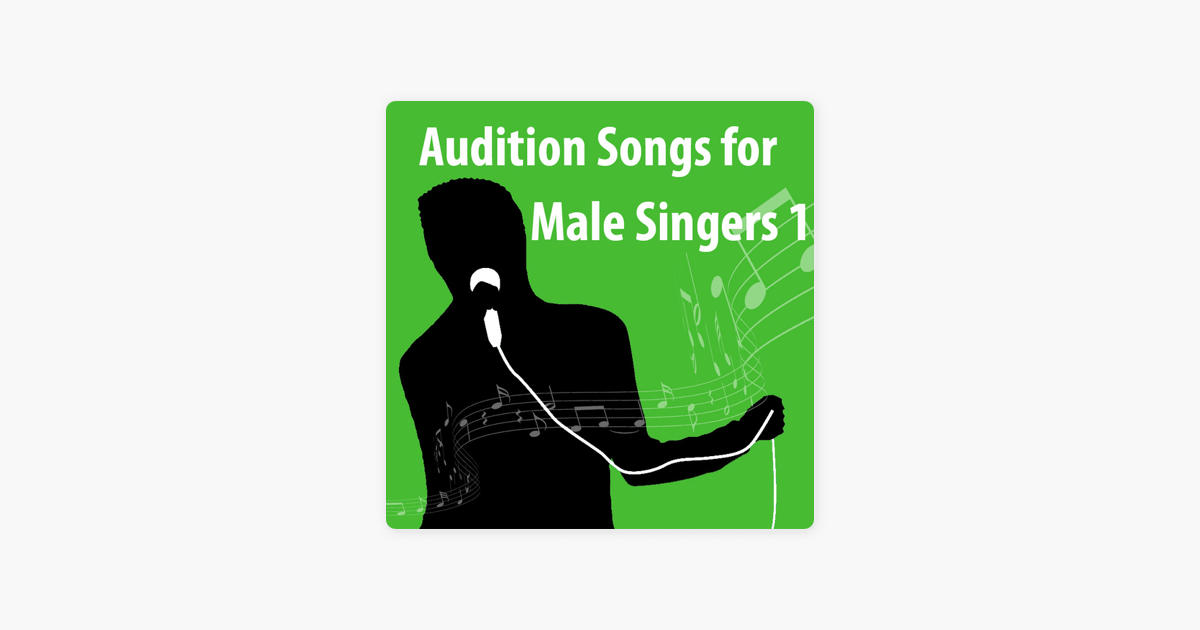 Audition Songs For Male Singers 1 by Omnibus Media Karaoke Tracks