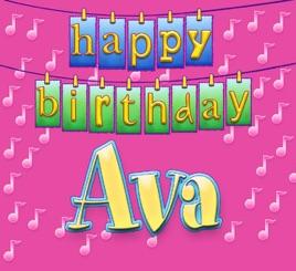 happy birthday ava Happy Birthday Ava   Single by Ingrid DuMosch on Apple Music happy birthday ava
