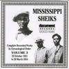 Mississippi Sheiks Vol. 3 (1931-1934) - Mississippi Sheiks