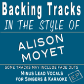 Backing Tracks in the style of Alison Moyet - EP (Backing Tracks) - EP