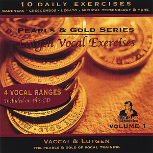 Judy Clark - Lutgen Vocal Exercise CD & Booklet Set, Vol 1: For Low, Medium & Mezzo Soprano Voices