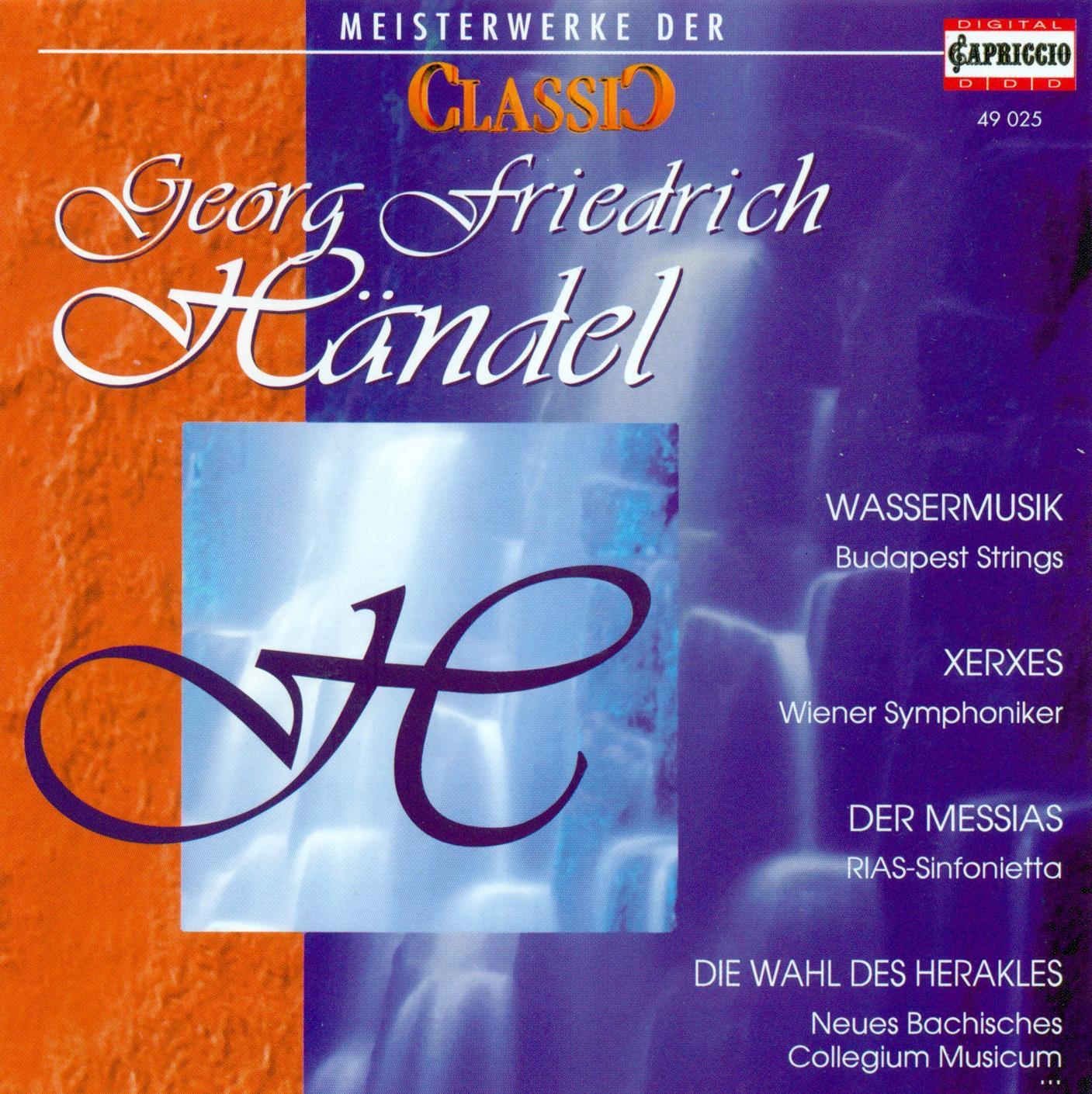 Classic Masterworks - George Frideric Handel