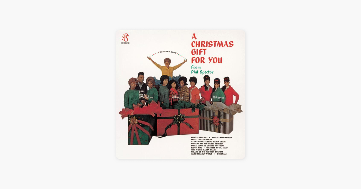 A Christmas Gift For You From Phil Spector.A Christmas Gift For You From Phil Spector By Various Artists