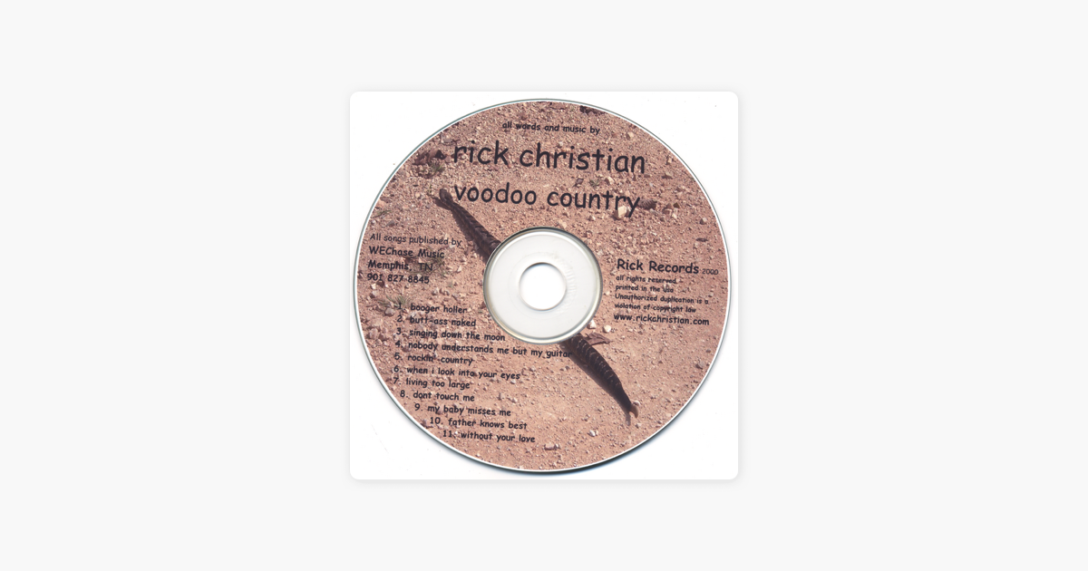 voodoo country by Rick Christian