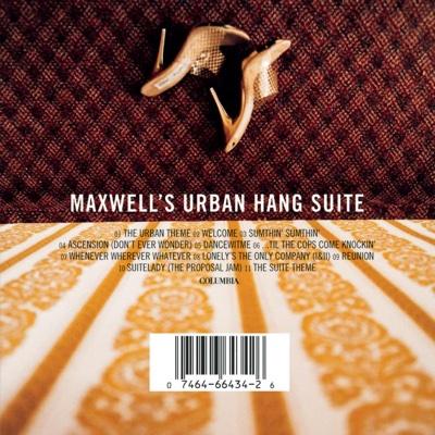 Maxwell's Urban Hang Suite - Maxwell album