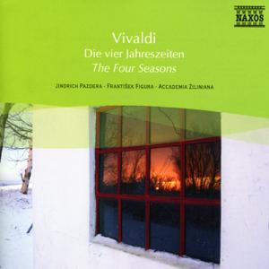 Jindrich Pazdera, Accademia Ziliniana & Frantisek Figura - Vivaldi: The Four Seasons - Violin Concertos, Op. 3, Nos. 6 and 8
