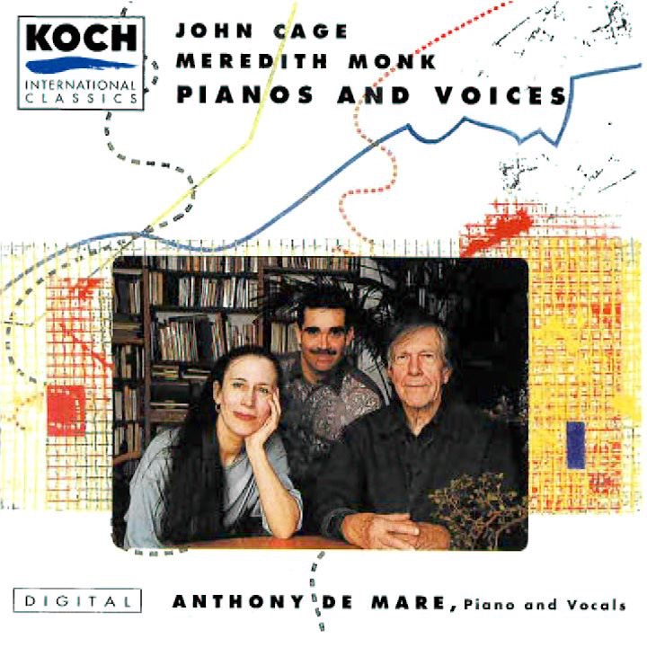 Cage & Monk: Pianos and Voices