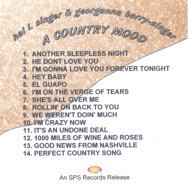 A COUNTRY MOOD by Hal L  Singer, Georganna Barry-Singer