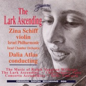 Zina Schiff - The Lark Ascending: Pezzo Ostinato Allegretto: D Major