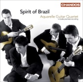 Aquarelle Guitar Quartet -- Dancas Nativas; II. Reflective Cancao