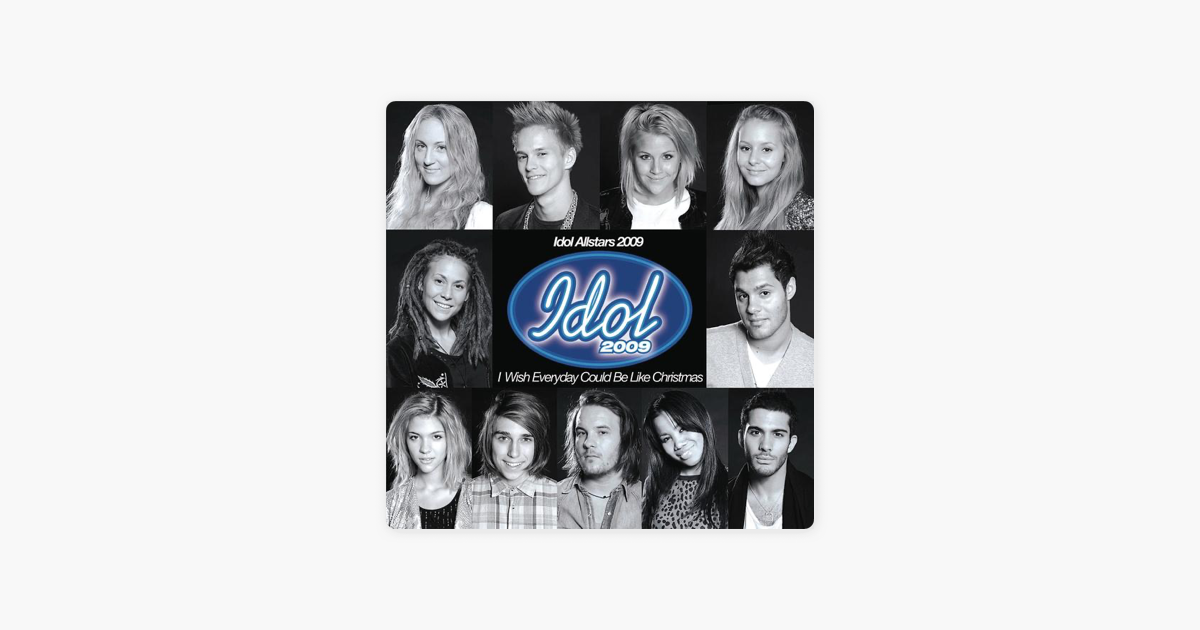 I Wish Everyday Could Be Like Christmas - Single de Idol Allstars ...