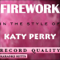 Karaoke Hitts - Katy Perry - Firework [Karaoke/Instrumental]