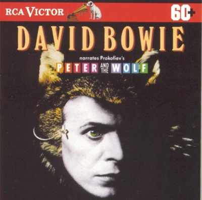David Bowie Narrates Prokofiev's Peter and the Wolf - David Bowie, The Philadelphia Orchestra & Eugene Ormandy album