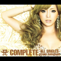 浜崎あゆみ - A COMPLETE ~ALL SINGLES~ artwork