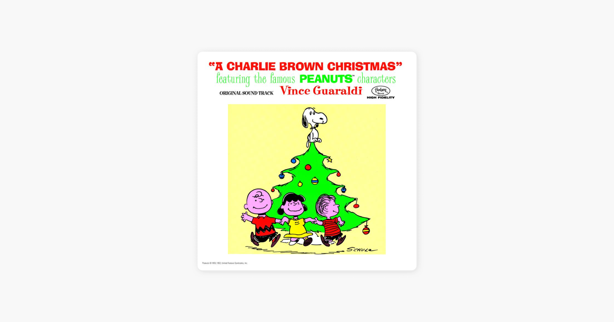 A Charlie Brown Christmas Soundtrack.A Charlie Brown Christmas Expanded Edition By Vince Guaraldi Trio