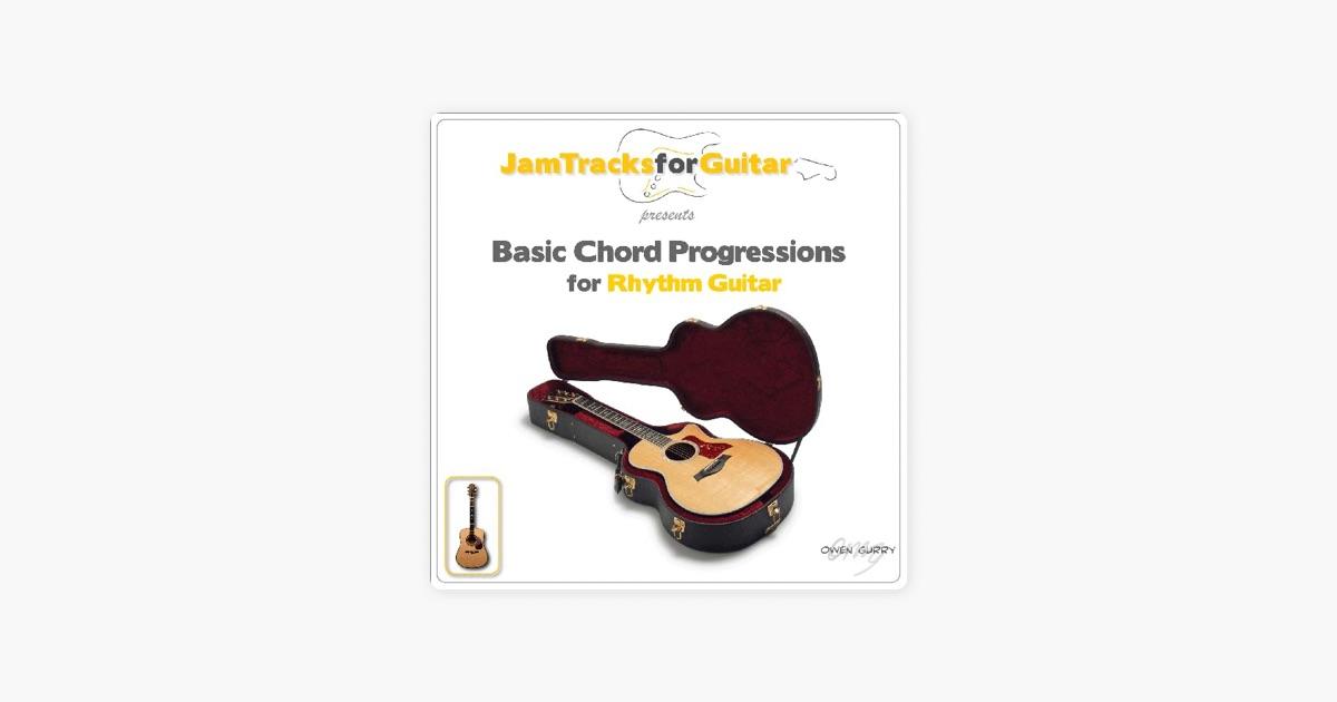 Basic Chord Progressions For Rhythm Guitar By Owen Gurry On Apple Music