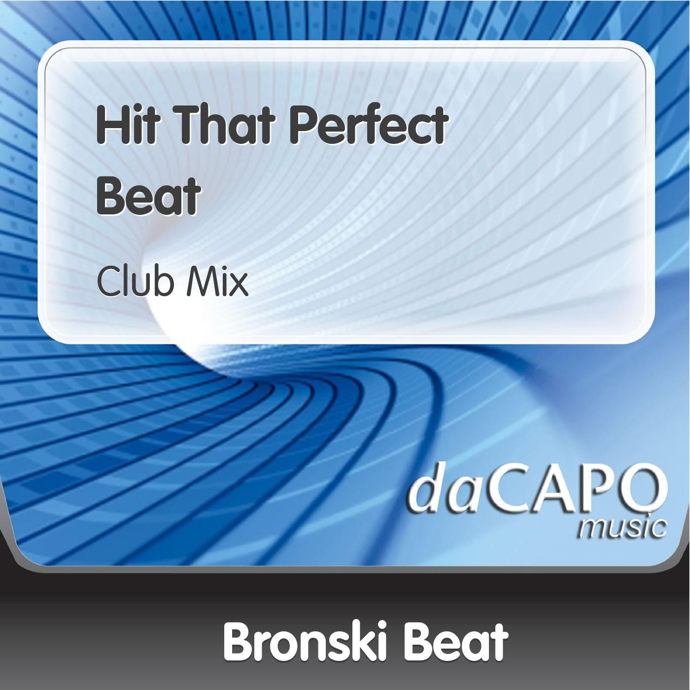 Hit That Perfect Beat - Single