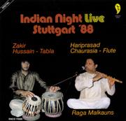 Indian Night Live: Stuttgart '88 - Pandit Hariprasad Chaurasia & Zakir Hussain - Pandit Hariprasad Chaurasia & Zakir Hussain