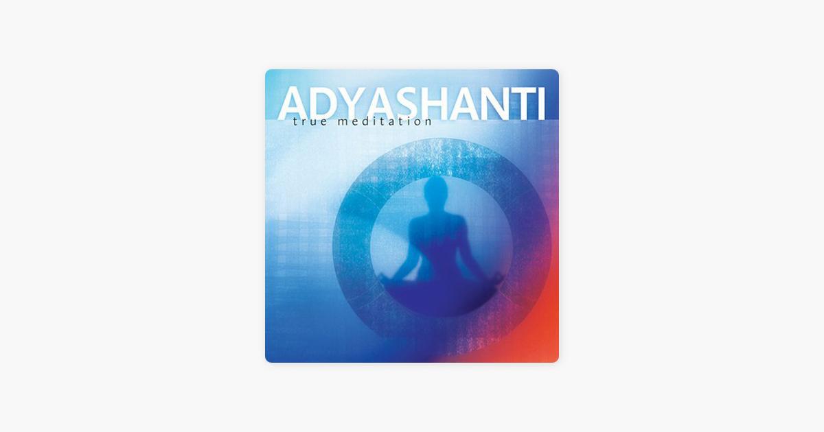 True Meditation - Adyashanti