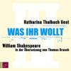 William Shakespeare - Was ihr wollt Grafik