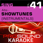 Sing Alto - Showtunes, Vol. 41 (Karaoke Performance Tracks)