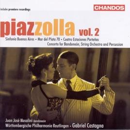 Piazzolla symphonic works vol 2 de gabriel castagna - Poco reutlingen ...