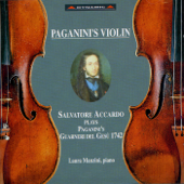 Paganini's Violin - Salvatore Accardo Plays Paganini's Guarneri del Gesù 1742