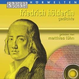 Friedrich Hölderlin Gedichte By Matthias Lühn