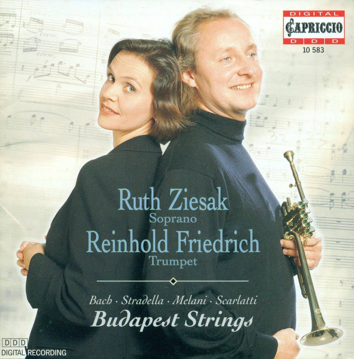 Bach, Stradella Melani & Scarlatti: Works for Voice and Trumpet