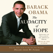 Download The Audacity of Hope: Thoughts on Reclaiming the American Dream Audio Book