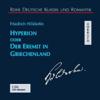 Friedrich Hölderlin - Hyperion oder Der Eremit in Griechenland アートワーク