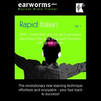 Earworms Learning - Rapid Italian: Volume 1 (Original Recording) artwork