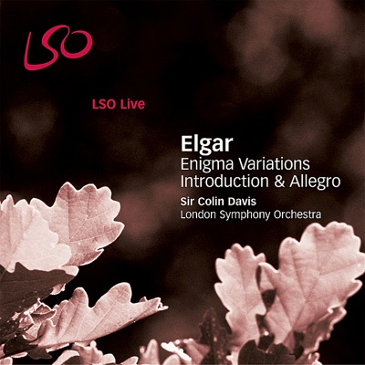 Elgar: Enigma Variations, Introduction & Allegro - London Symphony Orchestra & Sir Colin Davis album