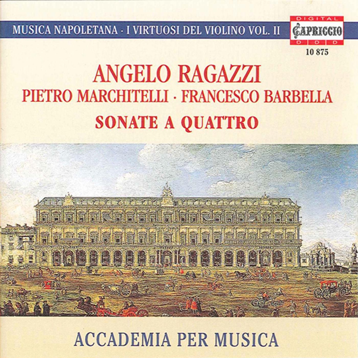 Sonata a 4 in F major: I. Adagio - Allegro