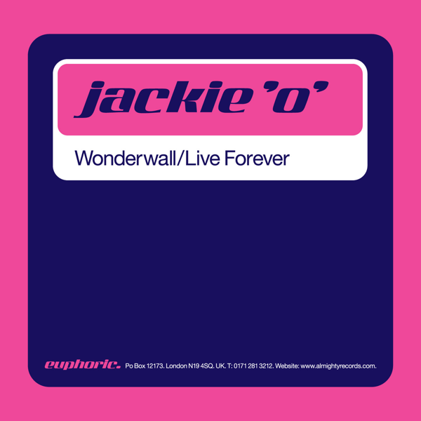 7c99acd34d Wonderwall   Live Forever - EP Jackie  O  · Pop  1995. Listen on Apple Music
