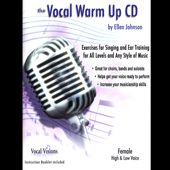 The Vocal Warm Up CD/Female High & Low Voice