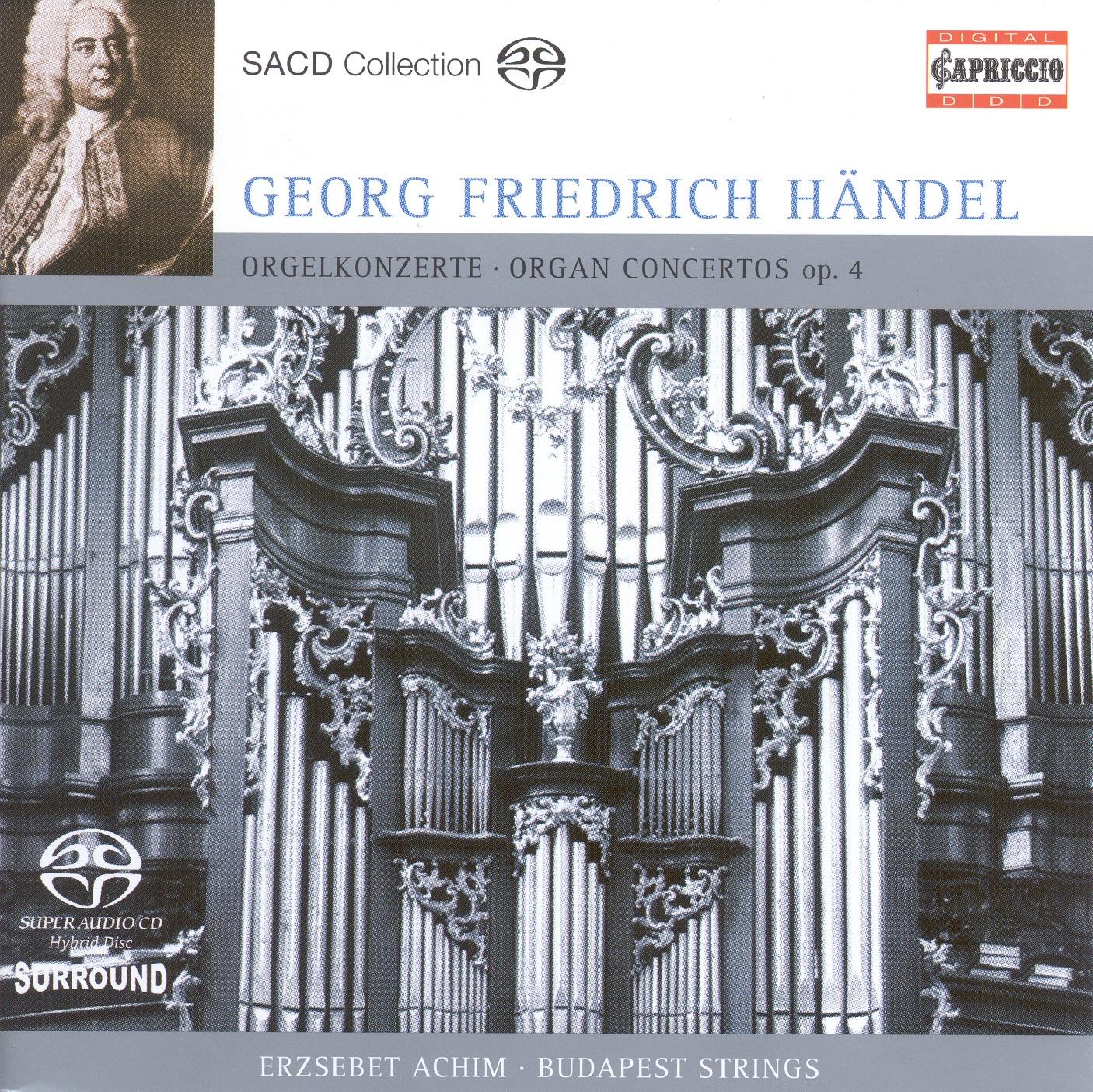 Handel: Organ Concertos Nos. 1-4 and 6