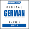 Pimsleur - German Phase 1, Unit 01: Learn to Speak and Understand German with Pimsleur Language Programs  artwork