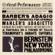 Adagio for Strings from the String Quartet, Op. 11 - Leonard Bernstein & New York Philharmonic