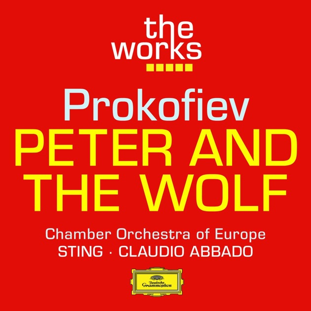 Prokofiev peter and the wolf by sting chamber orchestra for Chamber orchestra of europe