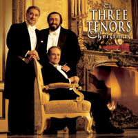 Plácido Domingo, Luciano Pavarotti & José Carreras - The Three Tenors Christmas artwork