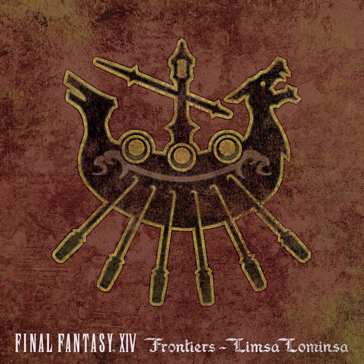 FINAL FANTASY XIV Frontiers - Limsa Lominsa Album Cover by