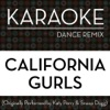 Power Music Workout - California Gurls  Originally Performed By Katy Perry & Snoop Dogg  [Karaoke Dance Remix] Instrumental With Background Vocals
