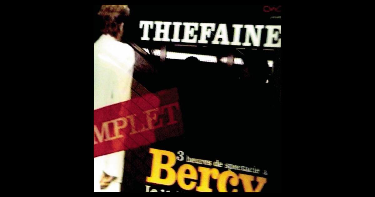 Hubert Félix Thiéfaine* Thiéfaine - Thiéfaine 84.88 (Enregistrements Originaux)