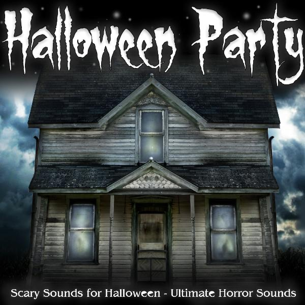 Halloween Party Album Cover by Ultimate Horror Sounds