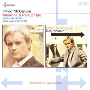 A Part of Me / A Bit More of Me – David McCallum