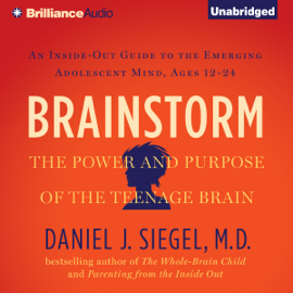 Brainstorm: The Power and Purpose of the Teenage Brain (Unabridged) audiobook