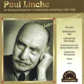 Lieder Der Liebesnacht (Komponistenportrait In Historischen Aufnahmen 1904 1940)-Paul Lincke