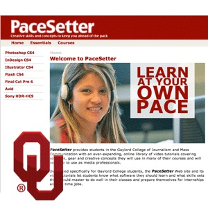 Ad Copy and Layout (JMC3353): PaceSetter Series