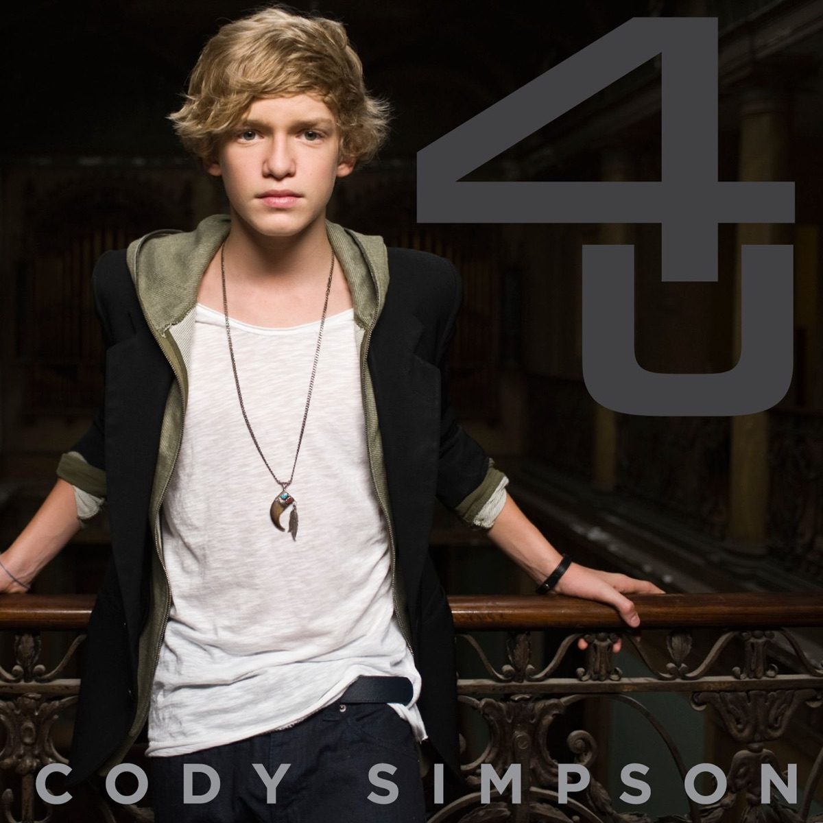 4 U - Ep Cody Simpson CD cover